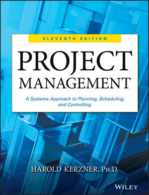 Textbook by Prof Harold Kerzner